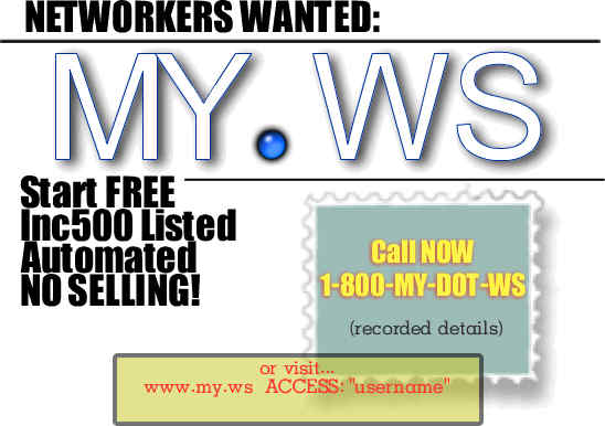 Networkers Wanted